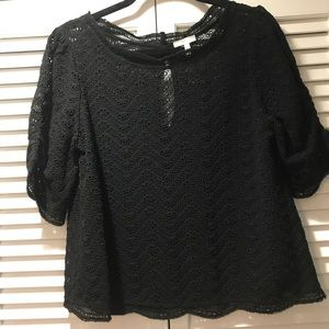 Joie Tops - Joie Silk Eyelet Top Size M